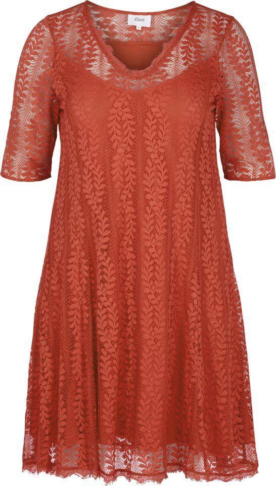 Otto kleid orange