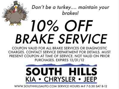 Auto Service Sales Amp Coupons In Mcmurray Pa South Hills