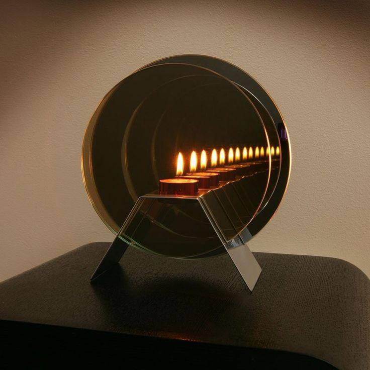 Birthday Present Gift Infinity Mirror Light Candle