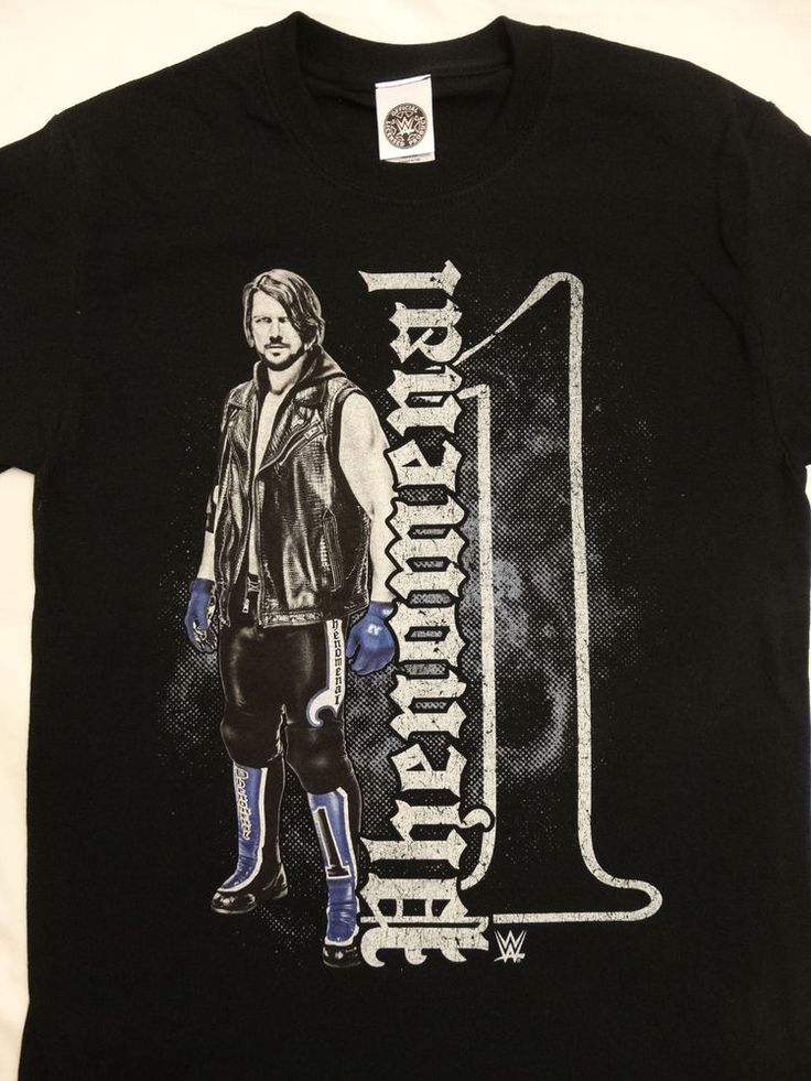 AJ Styles Phenomenal One Officially Licensed Wrestling WWE T-Shirt #WWE #GraphicTee