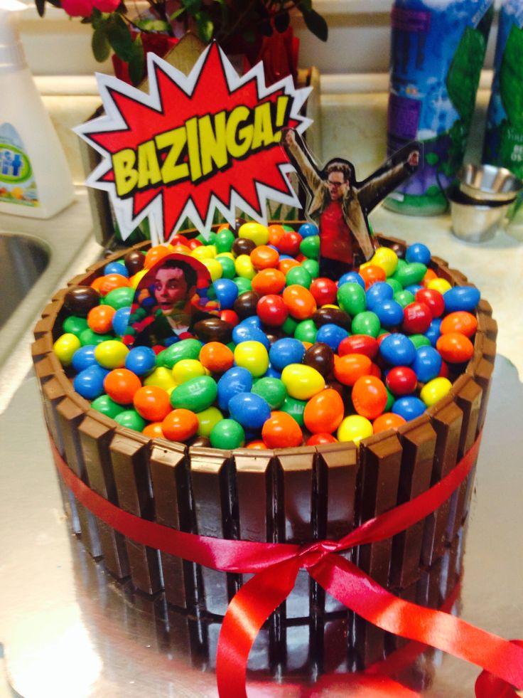 Big Bang theory birthday cake - hilarious!!!