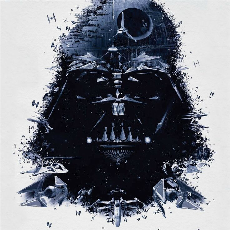 Darth Vader Portrait Art #retina  #iPad #Air #wallpaper