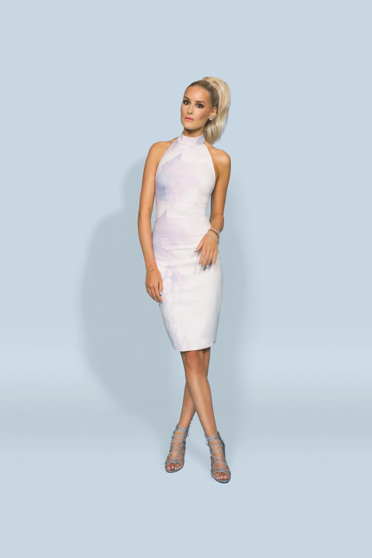 https://joshv.com/kleding-joshv/collectie/seventeen-joshv-17 Summer in the Hamptons! The JOSH V Alix dress is a beautiful, classic dress that is extremely suitable to wear to a classy party, a wedding or a fancy dinner. The open back is a seductive detail of the dress. Complete the outfit with elegant jewelry and the JOSH V Healy Heels. #JOSHV #Highsummer #Summer #Lookbook #Dress #Bodycharm #Heels