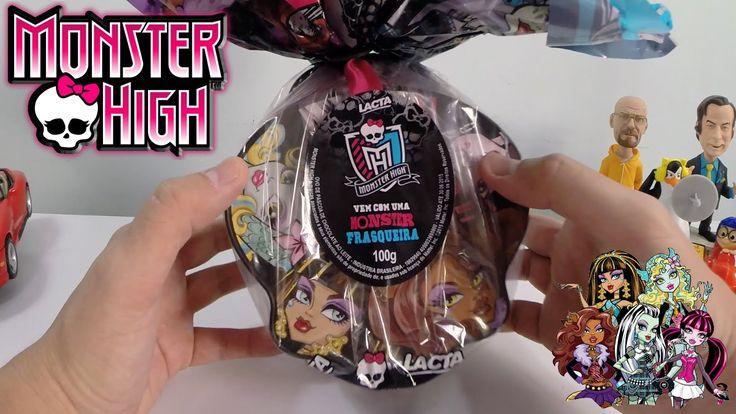 Ovo de Páscoa da Monster High 2015 - Lacta 100g Chocolate Ao Leite