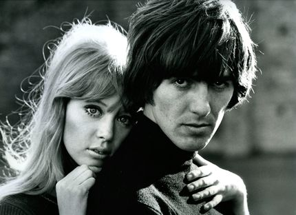 George Harrison with Patti Boyd
