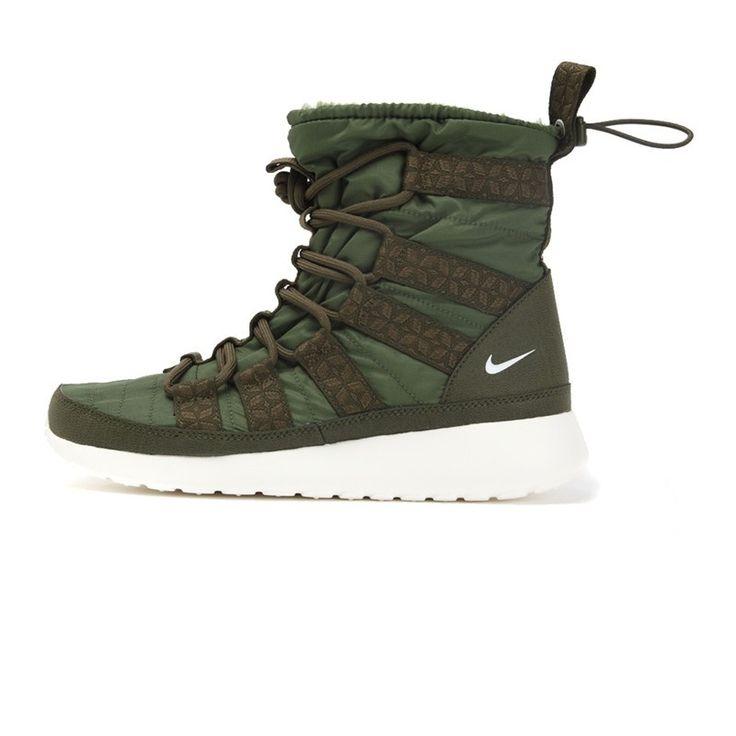 Nike sapatos de skate de alta SNEAKERBOOT ROSHERUN WMNS 615968 301 top em  Sapatas Skateboarding de