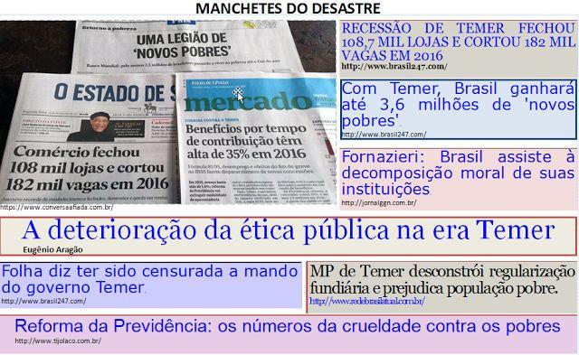"""Além d'Arena: Tributo aos idiotas do """"Fora Dilma!"""" XX"""