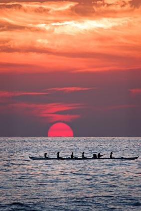 #sunset in #Hawaii
