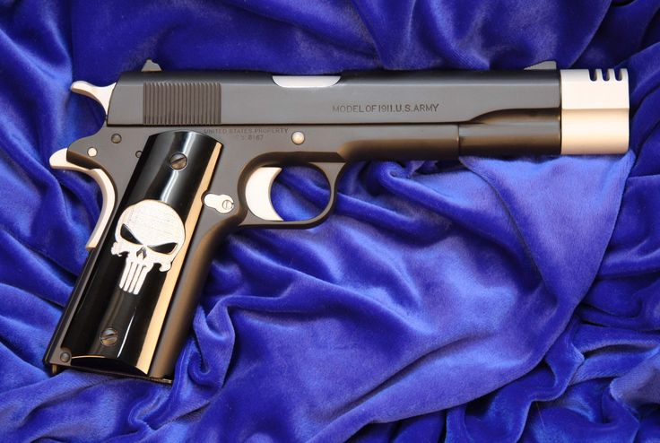"Image detail for -... : Colt ""Punisher"" 1911 45ACP - Picture: Colt 45 ""Punisher"" Pistol  Nice."