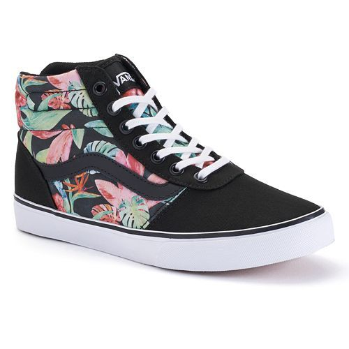 Mens Vans Shoes Black And Blue Hawaiian