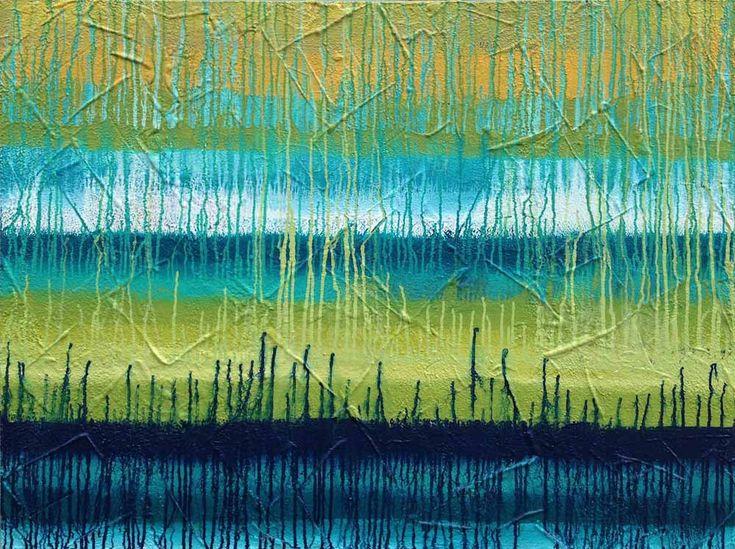 FRINGE OF THE FOREST by Mel Sebastian Contemporary Art for Sale - ART101 Art Gallery & Framing