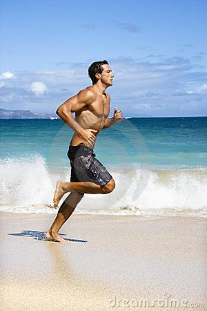Stock Photo about Man running.