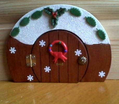 71 best elf on the shelf images on pinterest christmas for Elf door and elf
