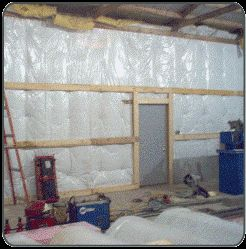 Install Pole Building Insulation System