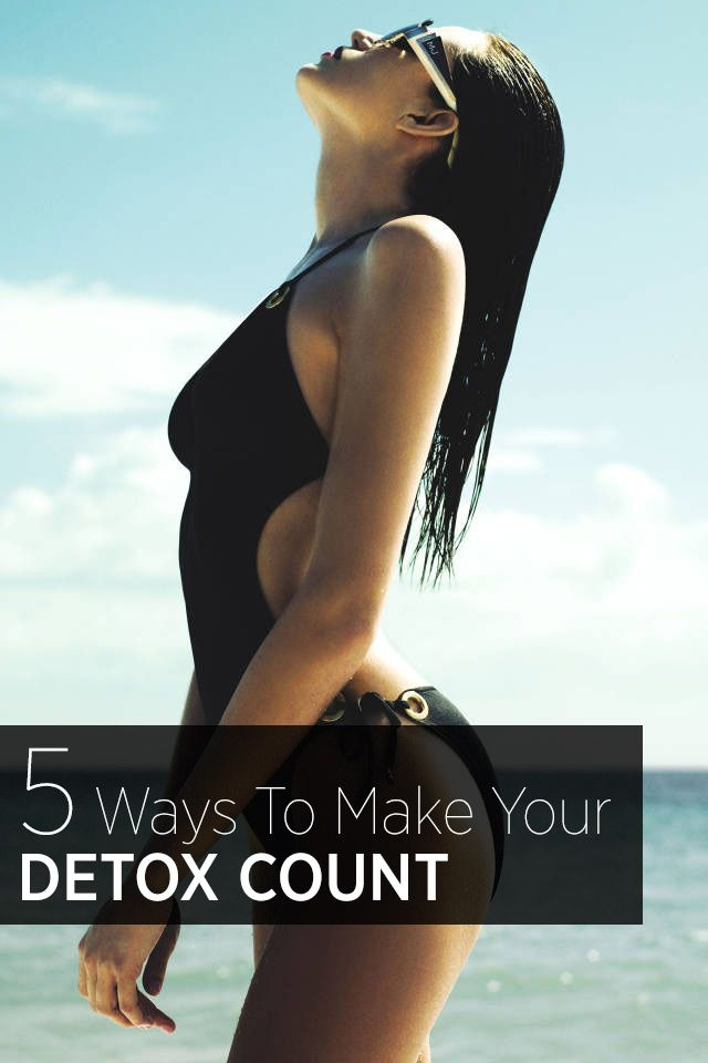 The ultimate summer detox—the diet and cleansing tips that will actually work by Memorial Day Weekend.