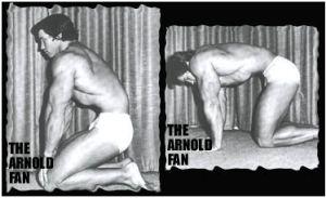 the Transverse Abdominus : : Arnie doing the Vacuum