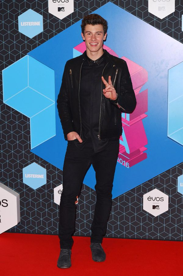 Shawn Mendes attends the European Music Awards, Rotterdam, Netherlands – 06 Nov 2016  (Even though Canada, America, Australia, etc aren't European....)