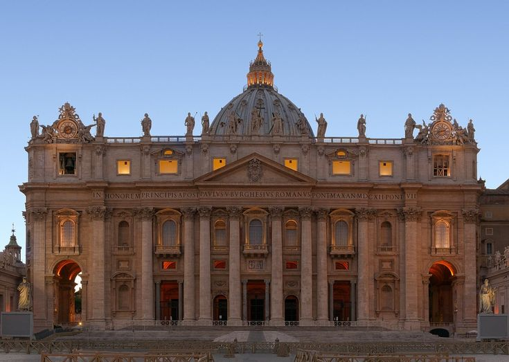 Basilika, Rom, Vatikanet, Kirke, Arkitektur