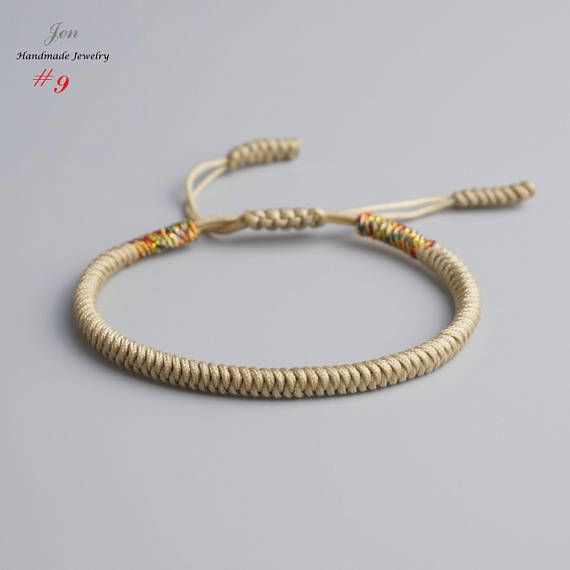 how to make a tibetan knot bracelet