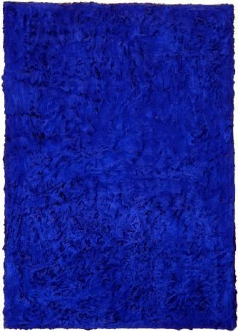 Untitled Blue Monochrome - Yves Klein