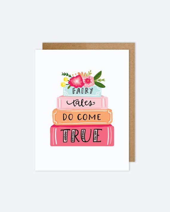 Fairy Tale Wedding Card AZ406