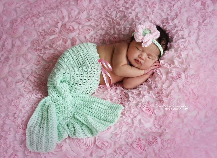 Newborn Baby Girl pose posing Photo Ideas Southern California Newborn Photographer Photos Prop Props Photography Riverside, Orange, San Diego, Murrieta, Fallbrook, Temecula, Corona, mermaid
