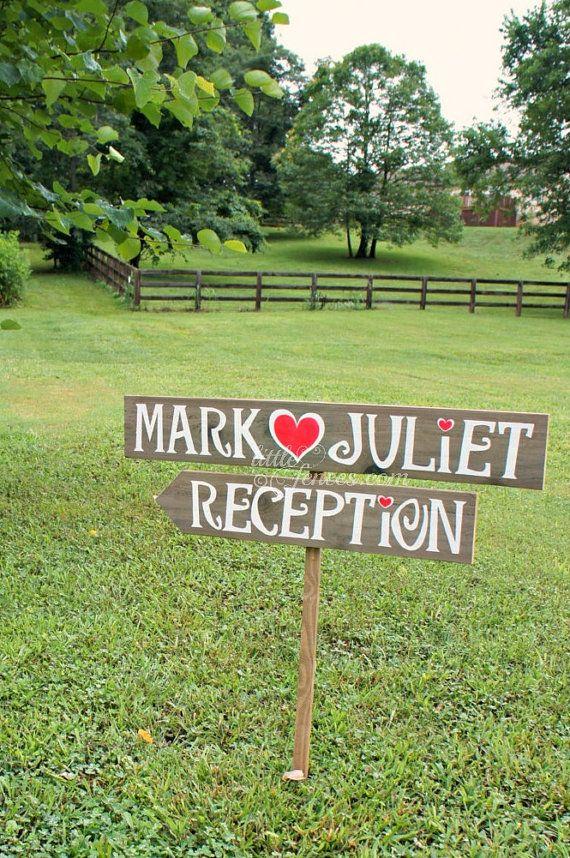 Reception+Sign+Wedding+SignageWedding+by+CountryWeddingSigns,+$45.00