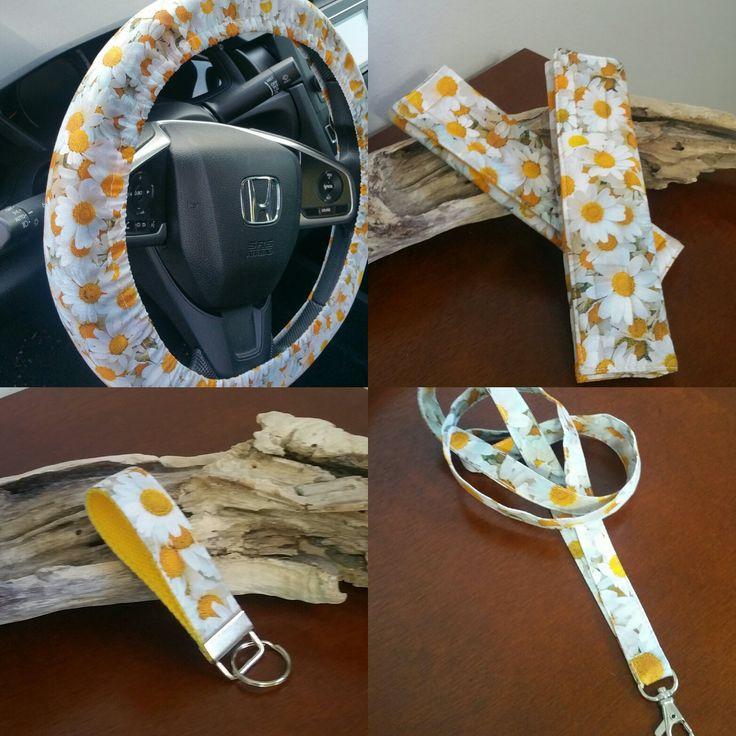 Leopard Car Accessories. Leopard-Printed Steering Wheel Cover for Women Leopard Steering Wheel Covers with BONUS 4PCS Leopard Car Cups Coasters