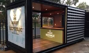 Image result for shipping container cafes