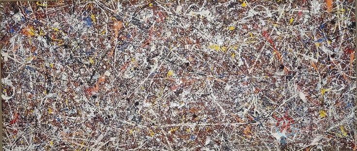 Synchronicita - PsyArt by Petr Jáchym 200x80cm , acrylic on canvas www.petrjachym.cz  Abstrakt