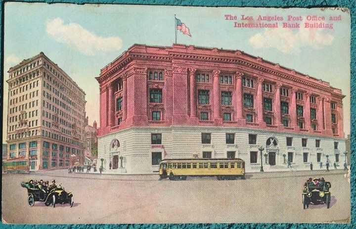 The Los Angeles Post Office Los Angeles Pinterest