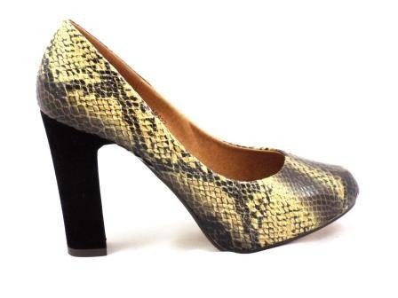 Pantofi dama  bej imitatie piele tip CROCO. la pretul de 79 RON. Comanda Pantofi dama  bej imitatie piele tip CROCO. de la Biashoes!