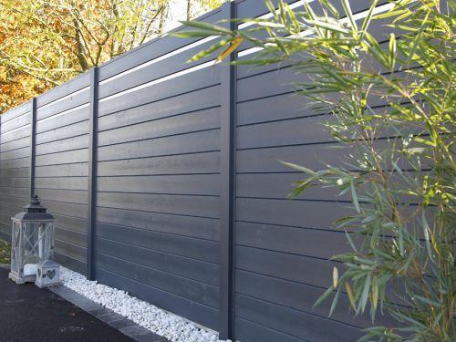 palissades bois & aluminium OPAL Plus