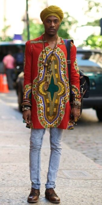 African Fashion We Wore Dashikis Just Like This In The