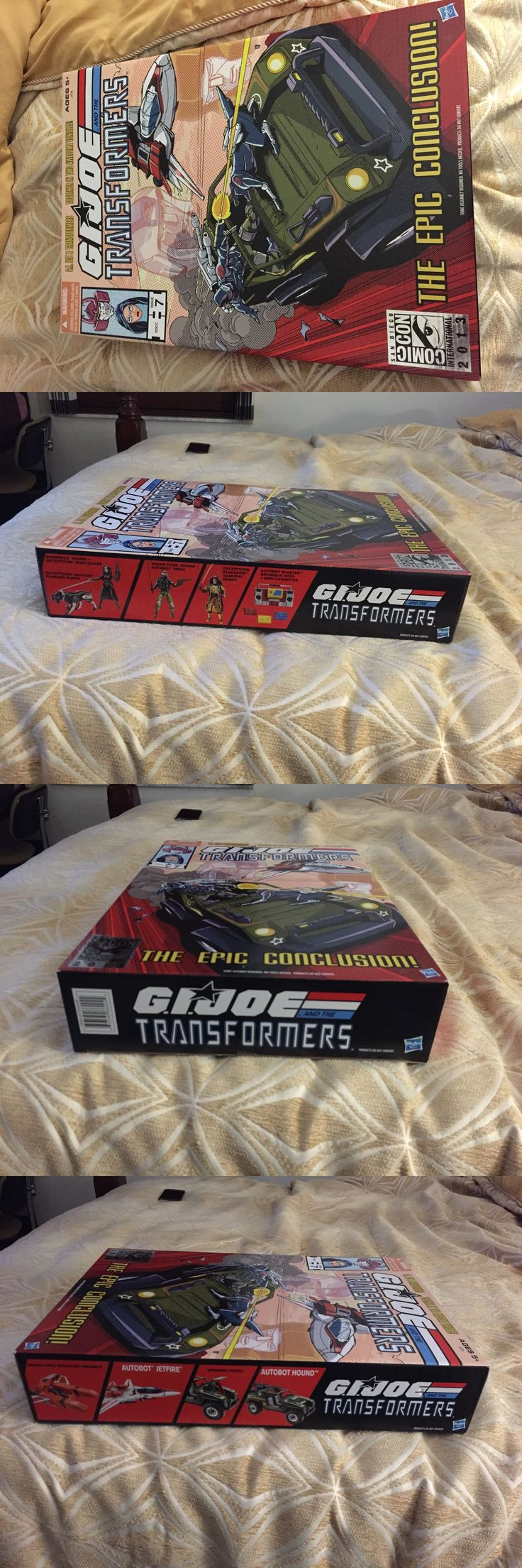 Transformers and Robots 83732: Sdcc 2013 Exclusive Set Gijoe Transformers The Epic Conclusion Jetfire And Hound -> BUY IT NOW ONLY: $140 on eBay!