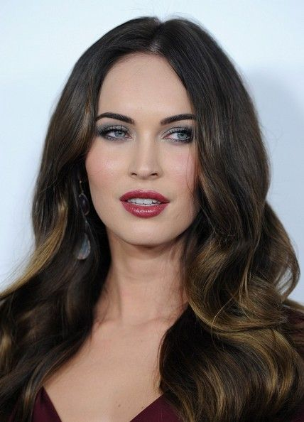 "A little ""hairspiration"" for 2013: Megan Fox's dark chocolate locks with sunkissed ends! #Style"