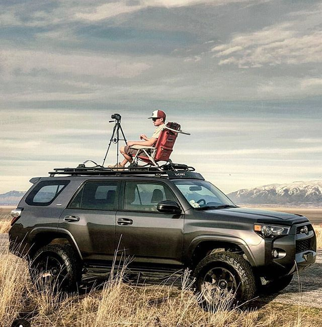 Staying on the topic of photography from the roof of your #overland vehicle...here is a great submission from @mikksup with his #toyota #4runner