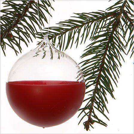 plasti dip glass ball ornaments