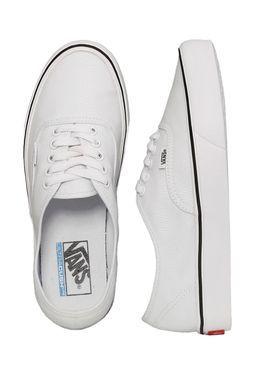 Vans - Authentic Lite Canvas True White - Shoes