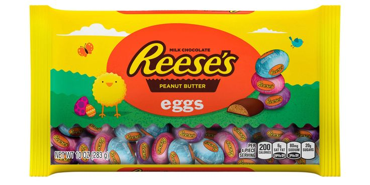 Reese's Mini Peanut Butter Chocolate Eggs Are The Most Popular Easter Candy This Year