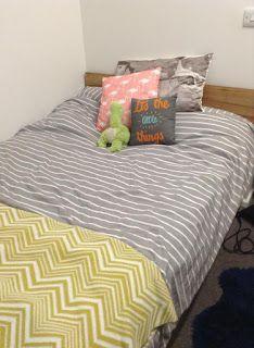 ChristyJane: My University accommodation room!
