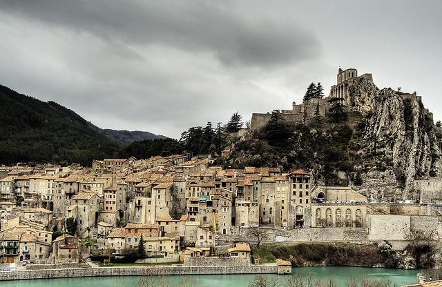 Sisteron, Provence-Alpes-Cote d'Azur, France