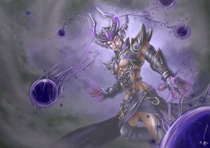 Syndra League of Legends genderbend