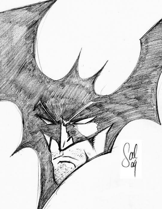 batman drawings