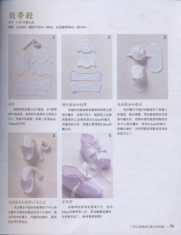 Nini Artes: Moldes de Sapatinhos de Tecido