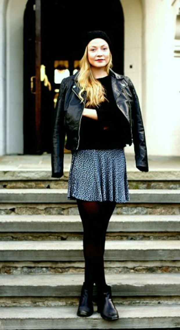 Looks on Campus: Tale - Sarah Lawrence College - College Fashion