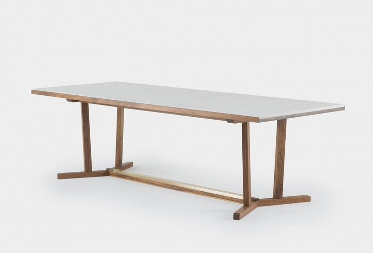 Viewing neri&hu 764M Shaker Dining Table Product