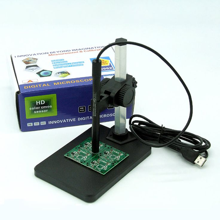 High Definition Digital Microscope Magnification 1-600X Sales Online black - Tomtop.com