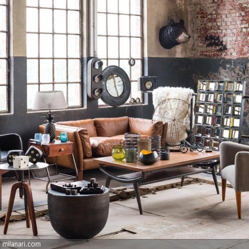 65 besten wohnen im industrie stil bilder auf pinterest industrie industriedesign und - Industrial style deko ...