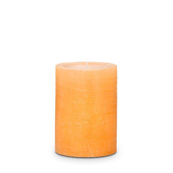 Mehukas klementiini 7x10 cm GloLite Pilarikynttilä